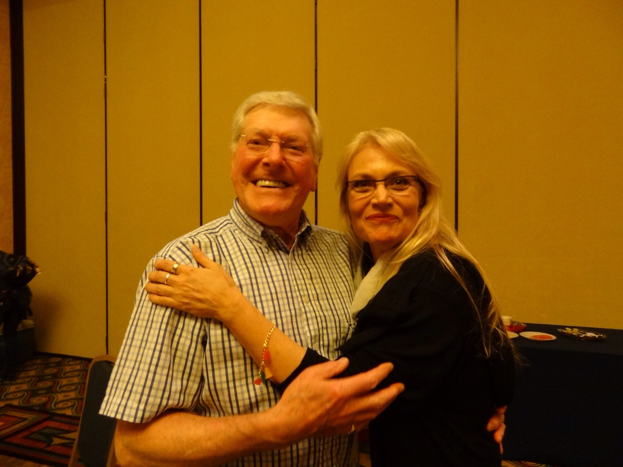 Gallifrey One 2013 With Peter Purves Daphne Ashbrook