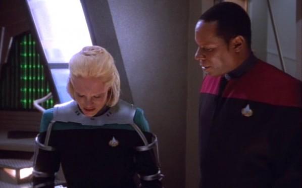 Star Trek: DS9 – Melora with Capt. Sisko